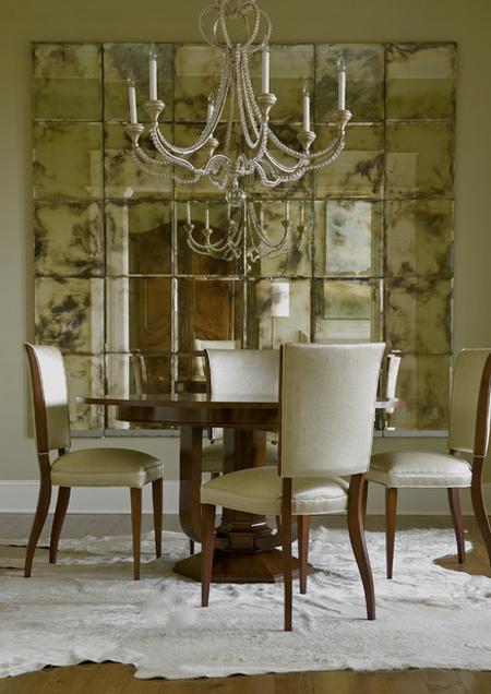 C mo envejecer un espejo para darle el toque vintage de for Espejos grandes de pared vintage