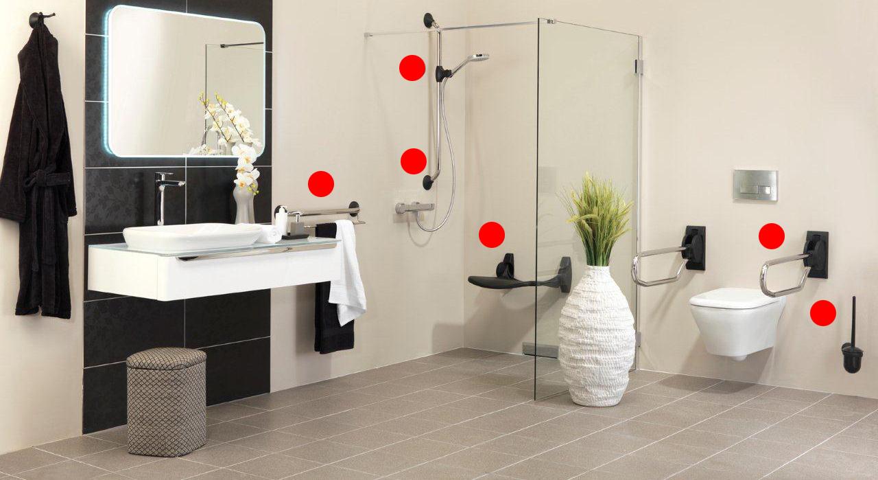 11 pistas para acondicionar un baño para discapacitados o personas