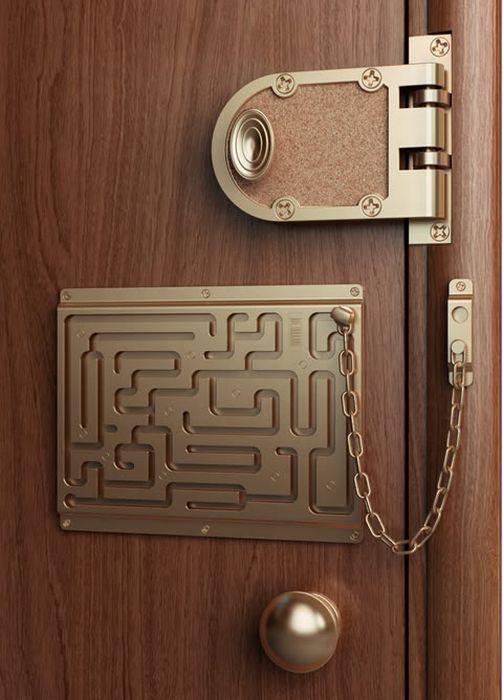 Pestillo un hogar con mucho oficio for Puerta que se abre sola