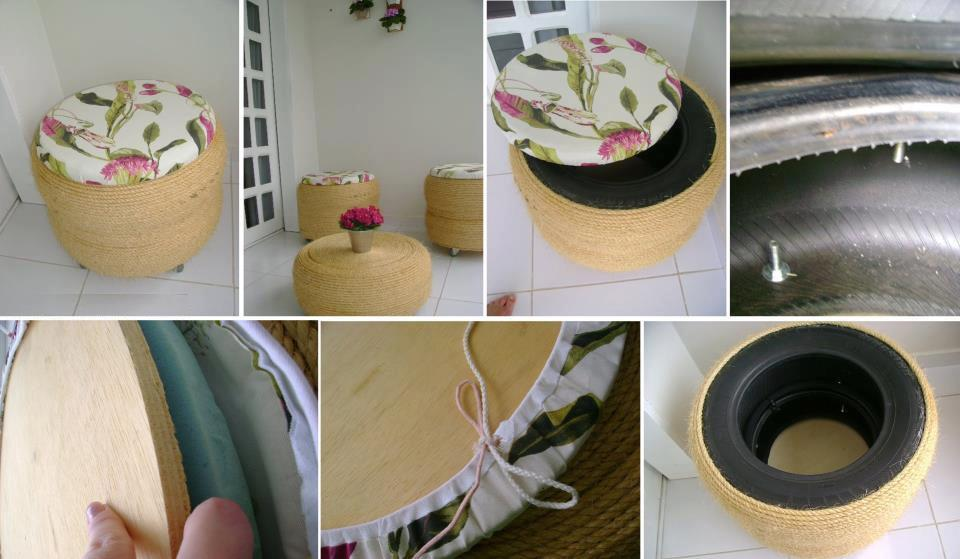 Reciclaje sobre ruedas 5 grandes ideas para darle nueva for Reciclaje decoracion hogar