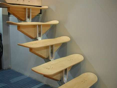 Skate Board resurrection - arte DIY monopatin escaleras - blog Reparalia