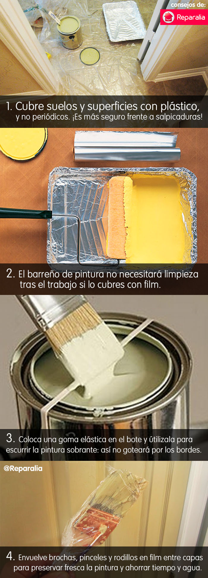 Meme: 4 consejos para pintar en casa y ahorrar tiempo y agua