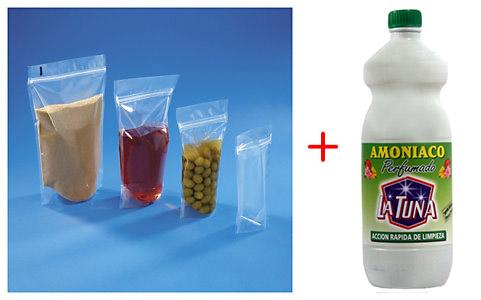 1º truco - bolsa ZIP y amoníaco para tus quemadores de gas