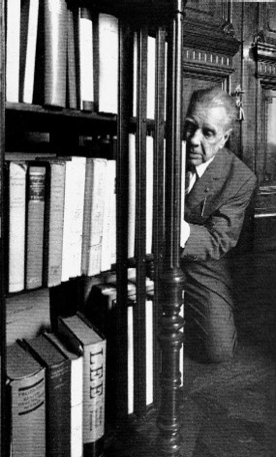 """""""La duda es uno de los nombres de la inteligencia"""". Jorge Luís Borges (que también tenía sus más y sus menos con los muebles de su biblioteca)"""