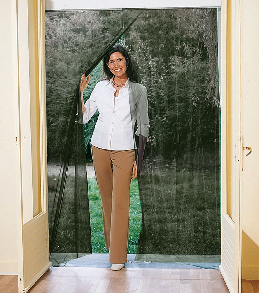 Tu casa a salvo de mosquitos polen y polvo cu l es la for Como hacer una puerta corrediza casera