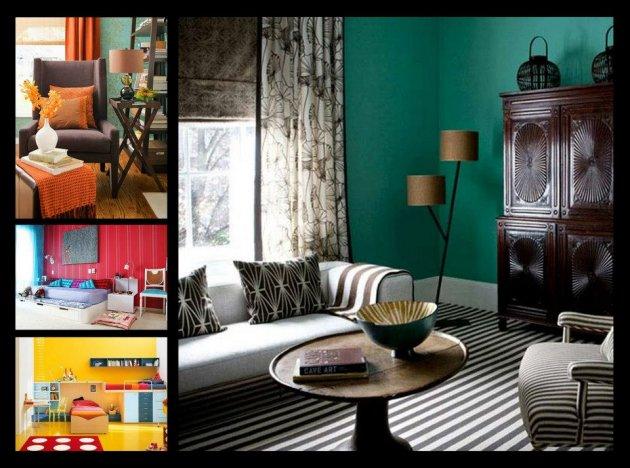 Habitaci n un hogar con mucho oficio - Como elegir colores para pintar una casa ...