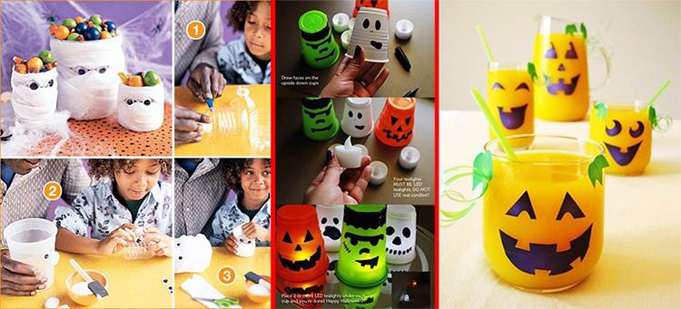 Ens ales a reciclar este halloween decoraci n divertida for Decoracion del hogar con reciclaje
