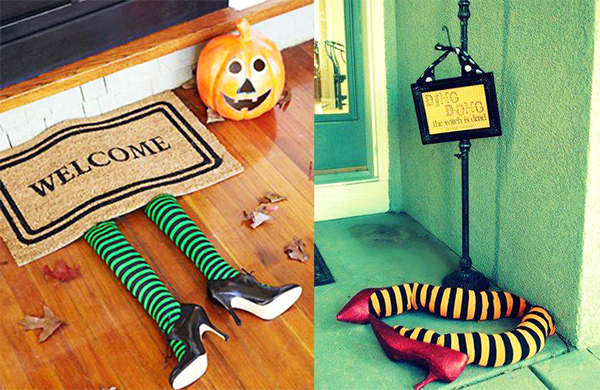 Decoracion Baño Halloween:Enséñales a reciclar este Halloween: ¡decoración divertida, barata