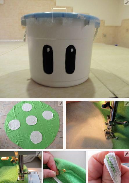 Creatividades en desechables for Cuanto sale hacer una pileta de material 2016