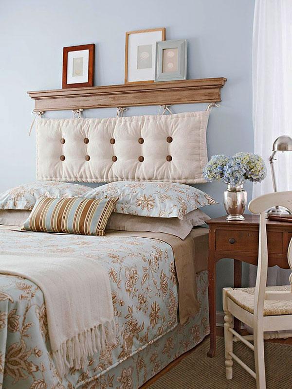 Camas un hogar con mucho oficio - Ideas para un cabecero de cama ...