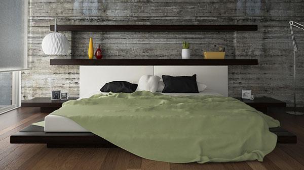 Otros 12 1 cabeceros de cama diy low cost para renovar - Estanterias low cost ...