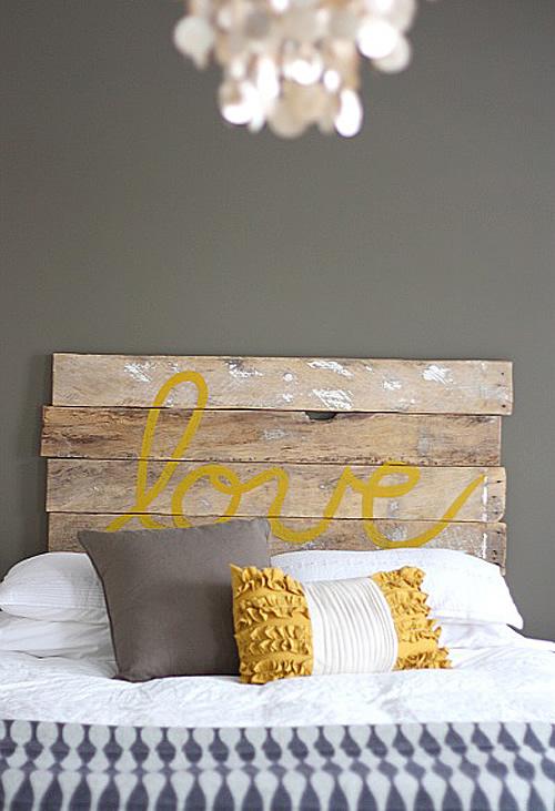 12 cabeceros de cama diy low cost que te sorprender n - Cabeceros de madera rusticos ...