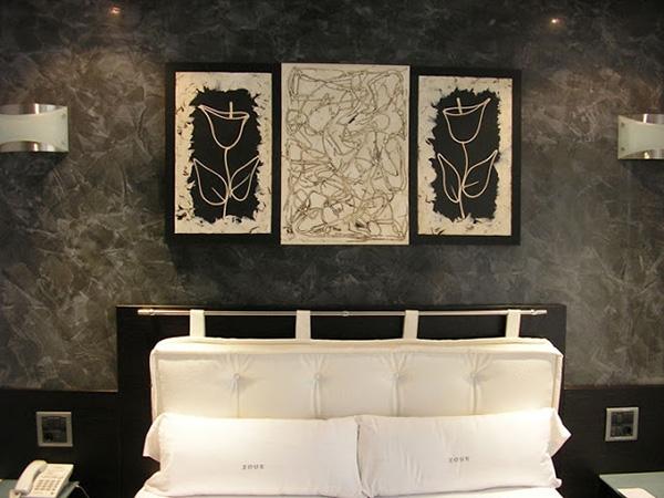 C mo conseguir el efecto estuco en las paredes de tu casa - Aplicacion de microcemento en paredes ...