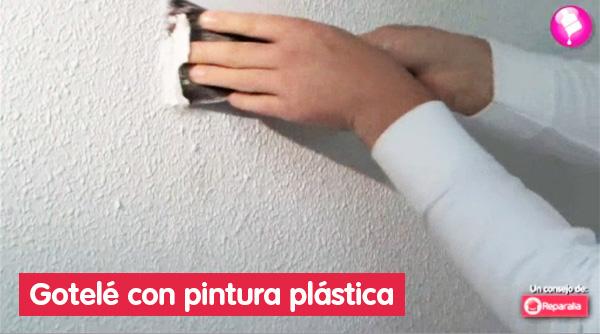 Video consejo cara a cara con tu gotel c mo eliminarlo - Como quitar el gotele de la pared ...