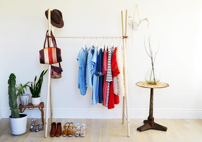 Armario al aire un hogar con mucho oficio for Como fabricar un armario