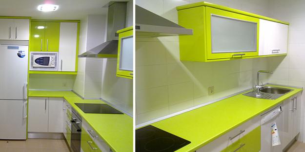 Nuestros carpinteros te ense an c mo dar un aire nuevo a - Cambiar encimera cocina sin obras ...