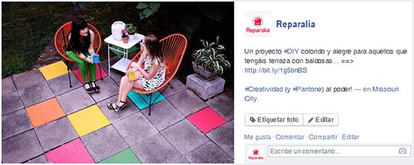 En nuestro Facebook te esperan muchas IDEAS, TRUCOS, CONSEJOS Y PROYECTOS DIY como este, ¿te apuntas a nuestra comunidad de amantes de su hogar?