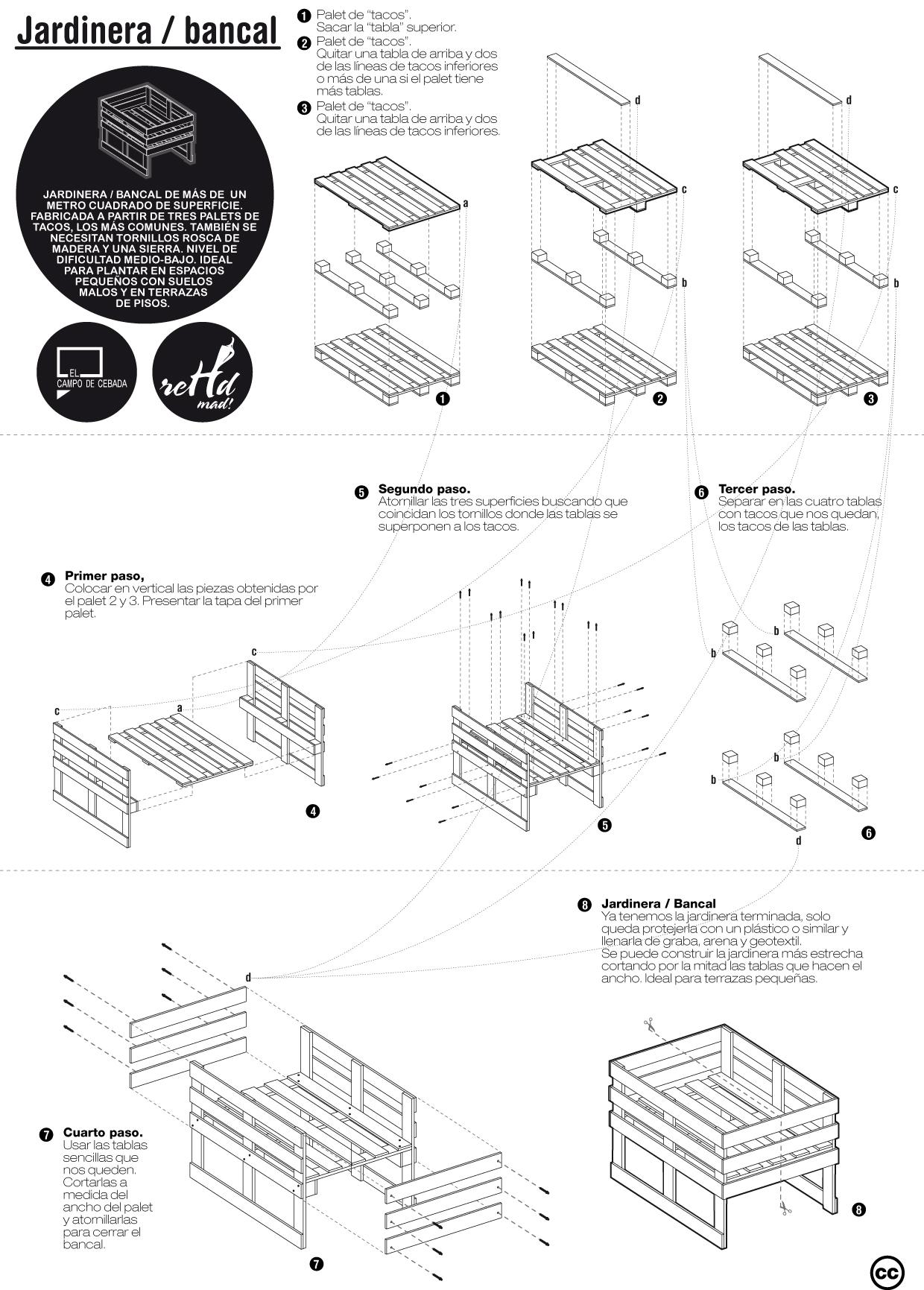 5 Planos A Lo Lego Para Construir Muebles Diy Reutilizando
