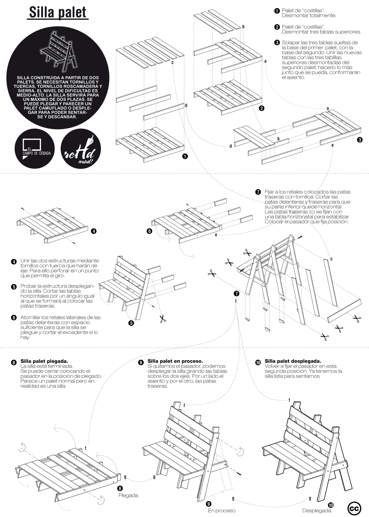 Pdf un hogar con mucho oficio for Planos de mesas de madera pdf