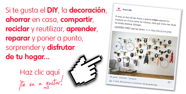 Descubre en el Facebook de Reparalia todos los trucos, consejos, ideas y DIY para hacer en tu propia casa, ahorrar y disfrutar de tu hogar mientras lo mantienes a punto como un profesional.