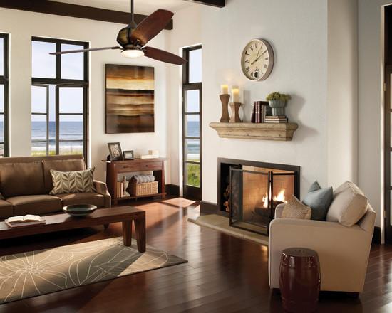 M s baratos ecol gicos y decorativos 17 ventiladores de - Ventiladores de techo rusticos ...