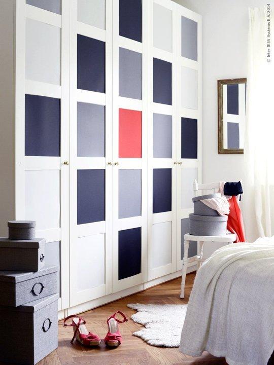 10 trucos para que tus armarios baratos parezcan de lujo - Puertas para armarios ikea ...