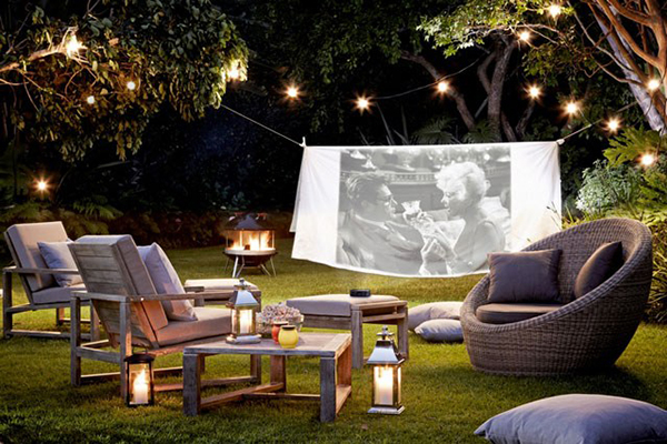 Las 4 claves para iluminar tu patio o jard n en las noches - Luces patio exterior ...