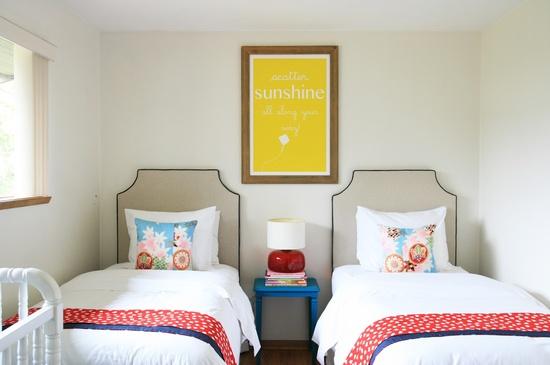 18 ideas para habitaciones compartidas por ni os un for Decoracion de recamaras para adultos