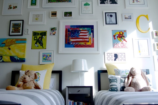 18 ideas para habitaciones compartidas por ni os for Ideas para decorar habitacion nino de 3 anos