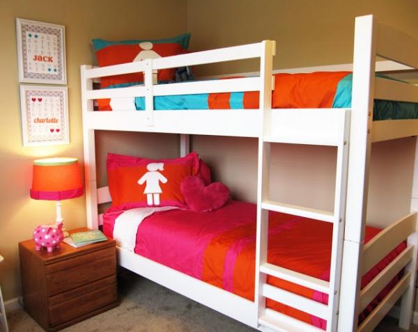 18 ideas para habitaciones compartidas por ni os un hogar con mucho oficio - Pisos vpo dos hermanas ...