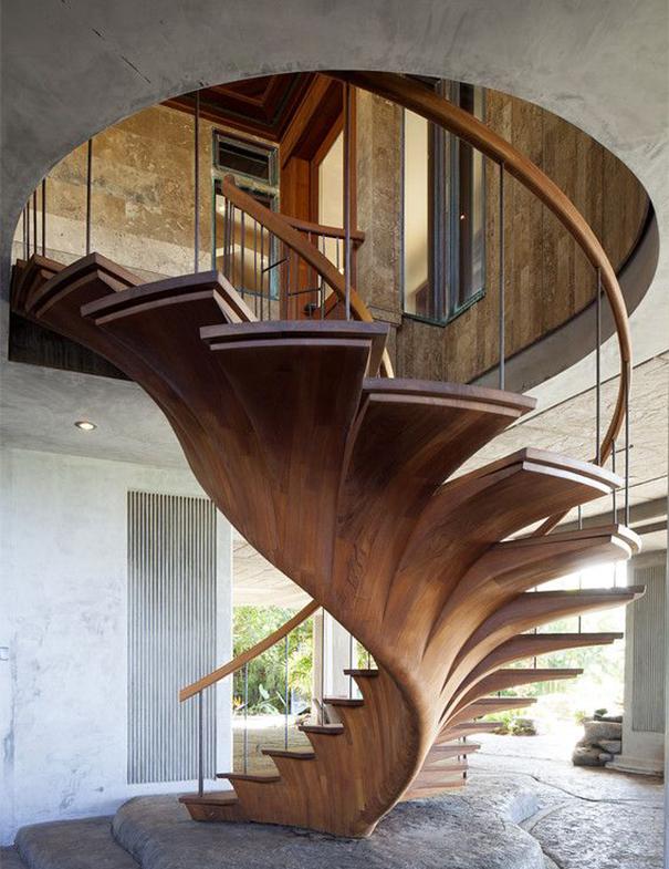 20 escaleras espectaculares y un par de consejos para no tener un