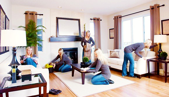 6 trucos para limpiar r pido y bien cuando apenas est s en for Recoger muebles