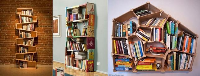 Las 20 librer as m s creativas y originales para tu hogar - Estanterias de diseno para libros ...