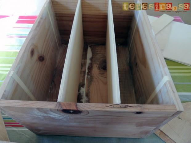 Madera un hogar con mucho oficio - Cajas de vino de madera decoradas ...