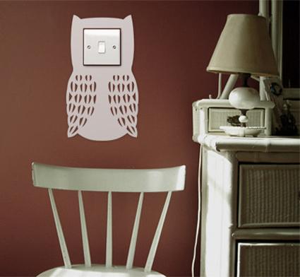 Inspiraci n pegatinas el ctricas para decorar tus paredes y mucho m s un hogar con mucho - Cosas originales para el hogar ...