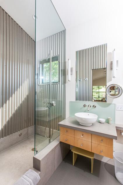 Grifo un hogar con mucho oficio for Concreto de cera en los azulejos del bano