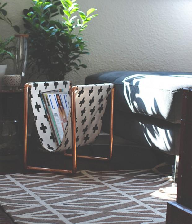 Los profesionales del hogar de Reparalia, expertos en todos los gremios de reformas y reparaciones de cualquier avería que puedas sufrir, te traen un poco de inspiración DIY con un proyecto sencillo, económico y muy chulo: un revistero de tuberías de cobre