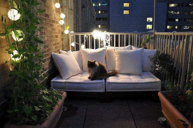 7 Ideas y un ejemplo para decorar tu balcón o terraza | Un hogar con ...