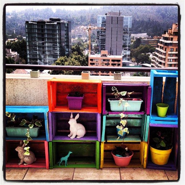 7 ideas y un ejemplo para decorar tu balc n o terraza un for Ideas muebles para poco espacio