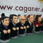 Los caganers de los candidatos