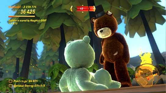 Se busca: oso de peluche psicópata | 20 hit combo