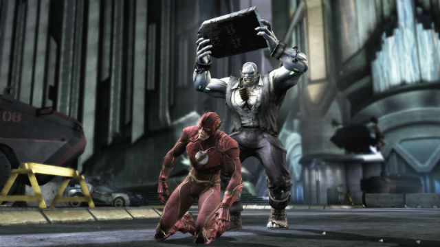 injustice flash ko