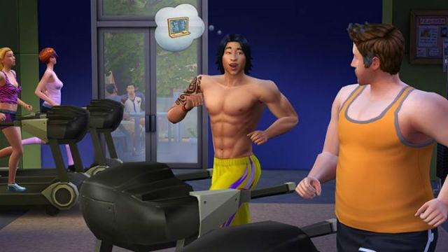 sims 4 gym