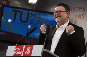 El líder del PSPV, Ximo Puig