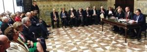 Fabra con los empresarios valencianos