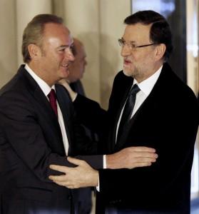 Rajoy saluda a Fabra