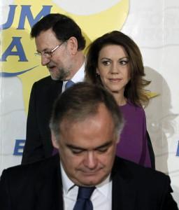 Rajoy, Cospedal y González Pons
