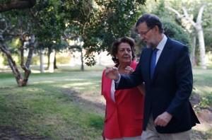 Rajoy con Barberá