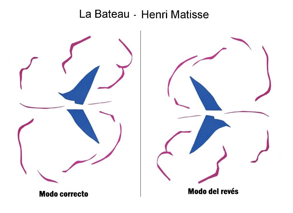 Un Matisse del revés