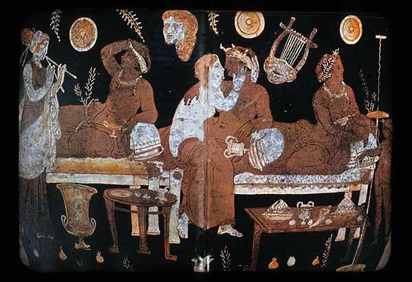 La vestimenta de las prostitutas de la antigua grecia